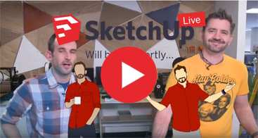 Youtube: Facebook Live: New in SketchUp Pro 2018