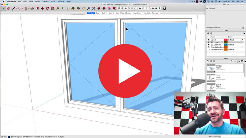 Die Neuerungen von SketchUp Pro 2019 im Video